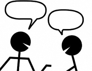 job change advice how to convert a conversation into a no talking please clipart not talking clipart